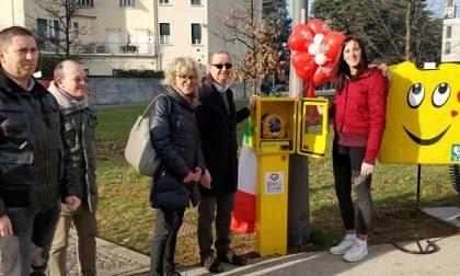 Rubato il defibrillatore installato nel parco pubblico