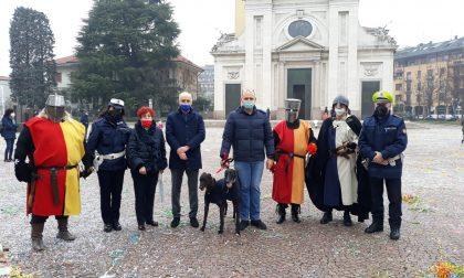 Tutti in piazza Maggiolini a rievocare la Battaglia di Parabiago del 1339