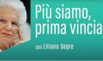 La senatrice Liliana Segre invita gli over 80 a vaccinarsi