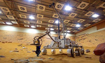 Atterraggio su Marte, i bracci meccanici progettati a Nerviano