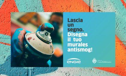 """A Cinisello Balsamo un murale """"antismog"""""""