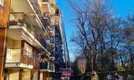 Incendio in appartamento, evacuato palazzo