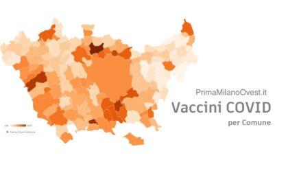 Vaccino anti-Covid: scopri quanti tuoi concittadini lo hanno già fatto