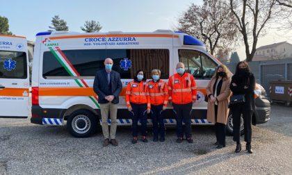 Anonima benefattrice dona una ambulanza alla Croce Azzurra
