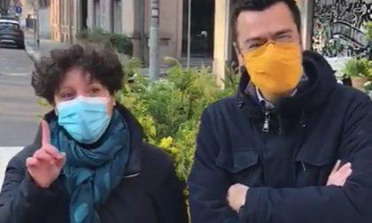 Flashmob alla scuola Bonvesin de la Riva, la solidarietà dell'Amministrazione