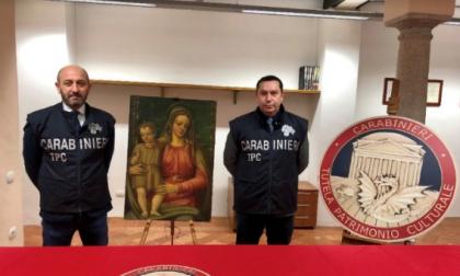 Recuperata a Pero una Madonna con Bambino del Cinquecento