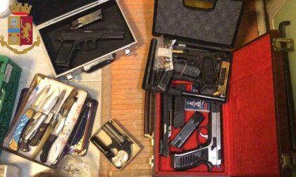 Aveva un arsenale di armi clandestine: arrestato