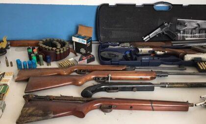 Arsenale di armi clandestine: la Polizia di Stato arresta incensurato di 61 anni