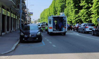 Incidente lungo corso Europa a Rho: traffico in tilt