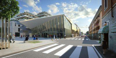 Ecco il nuovo teatro Roberto De Silva….