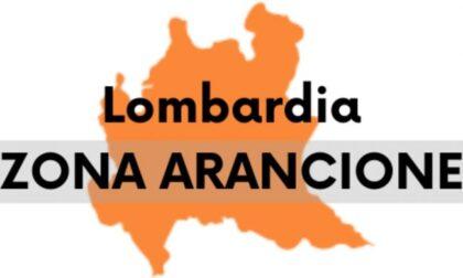 Lombardia in arancione da lunedì