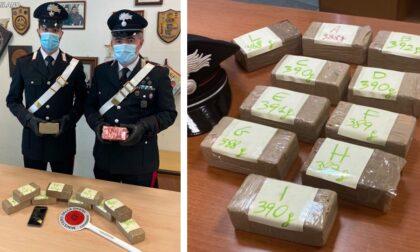 Aveva 4 chili di cocaina in auto: arrestata 51enne