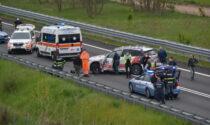 Grave incidente lungo la strada per Malpensa: centauro finisce in ospedale in elisoccorso