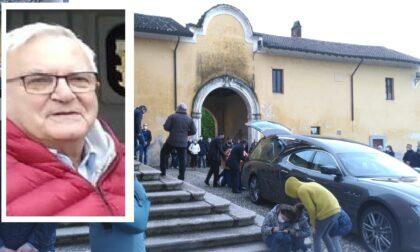 Folla per l'ultimo saluto a Giuseppe Albetti