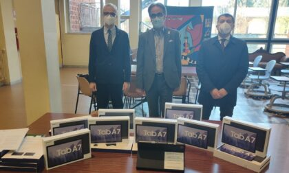 Rotary Club, dieci tablet all'istituto Terzani