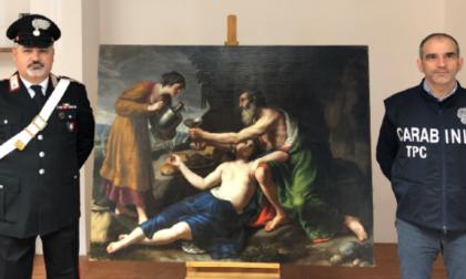 Dipinto rubato nel 1944 in Francia dalle truppe tedesche: recuperato dai Carabinieri