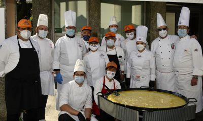 Mille piatti di polenta e baccalà per aiutare i poveri