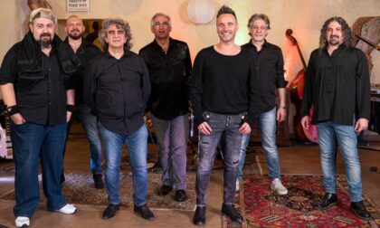 Sul palco con Nek: l'avventura di Maggiore, Beltramini, Perosin e Ferrara