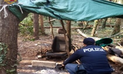 Preso pusher dei boschi: arrestato per spaccio, resistenza e lesioni