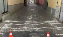 Castano, lavori Cap: chiusa via del Pozzo