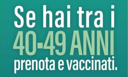 Prenotazione vaccino anti Covid in Lombardia: da domani tocca ai 40enni