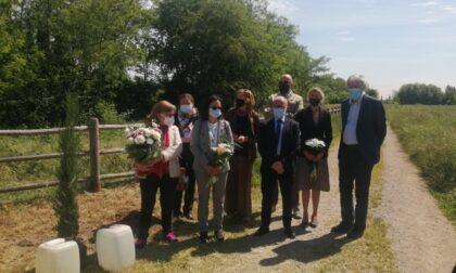 Una cerimonia per ricordare la 25enne trovata morta in una zona boschiva