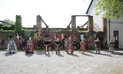 Palio di Legnano, girato al Castello un video destinato alle scuole