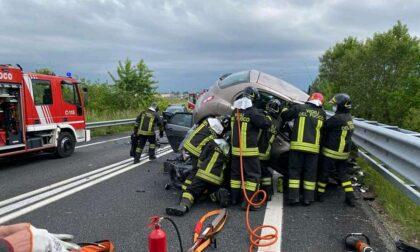 Dopo il gravissimo incidente, la Statale riapre al traffico