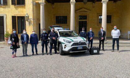 Suv con cella di sicurezza per la Polizia Locale di Castano Primo-Nosate