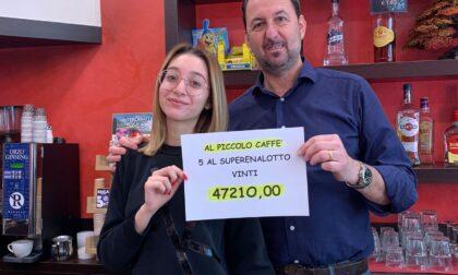 """SuperEnalotto: a Pogliano Milanese arriva un """"5"""" da 47mila euro"""