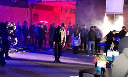 Il ritorno di Shiva nella sua Corsico: i video del rapper girati al Lavagna