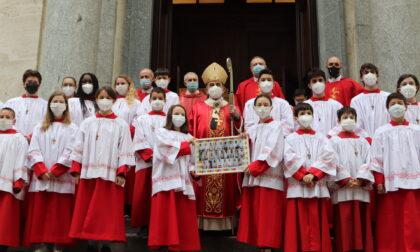 L'arcivescovo celebra il restauro del Santuario