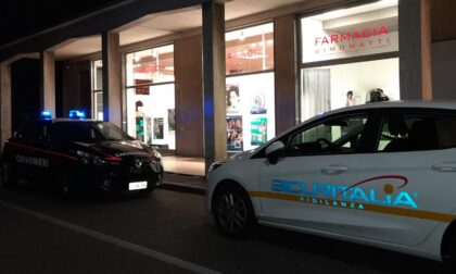 Farmacia assaltata dai ladri nella notte