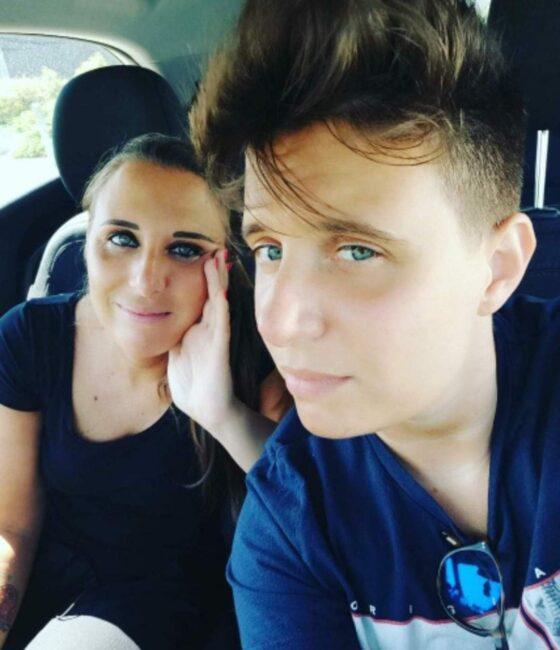 Tommaso con la sorella gemella Deborah