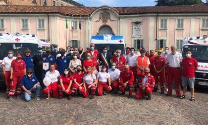 Inaugurate le due nuove ambulanze della Croce Rossa