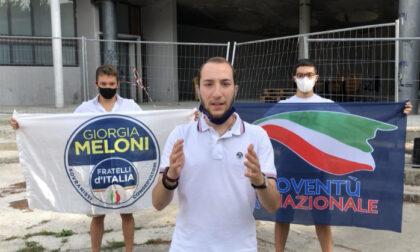 """Blitz di Fratelli d'Italia nella piazza di spaccio """"Bassettino"""""""