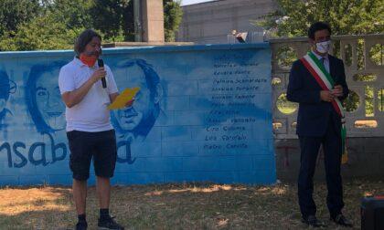 Inaugurato il murales dedicato alle vittime di mafia