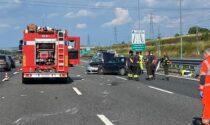 Drammatico incidente in autostrada