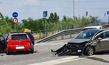 Incidente tra Arese e Rho: 4 persone coinvolte