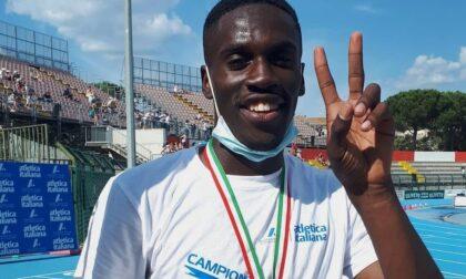 Franck Koua campione italiano nei 110 ostacoli