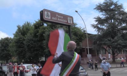 """Abbiategrasso, inaugurato il """"Parco dell'Amicizia"""""""