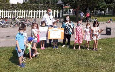 I bambini scelgono i nomi dei parchi