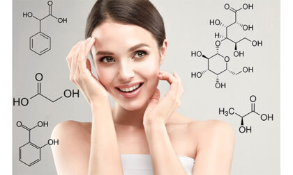 Rinnovamento della pelle:  come funzionano gli acidi nei cosmetici?
