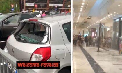 Temporali a raffica su Milano: il VIDEO della grandine rompe i vetri delle auto