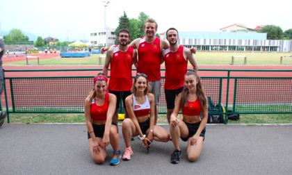 La Us San Vittore Olona sezione Atletica leggera ha gareggiato a Bergamo