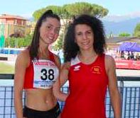 L'Us San Vittore Olona Atletica leggera ai campionati italiani