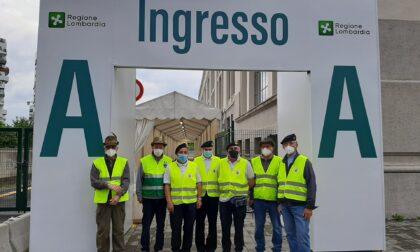 """I """"Marinai di Rho"""" volontari nell'hub a Palazzo delle Scintille"""