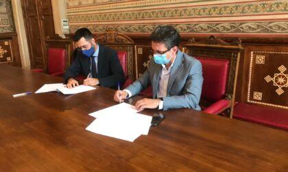 Bernocchi e Dell'Acqua: firmato storico accordo tra Comune e Città metropolitana