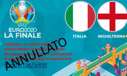 Italia in finale agli Europei, maxi schermi controllati e piani anti Covid