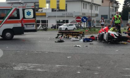 Due motociclisti coinvolti in un gravissimo incidente stradale sulla Statale 11